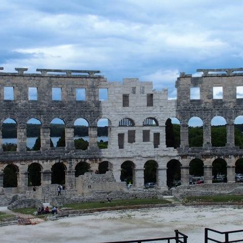 Amphitheater Pula One of the best arena in the world