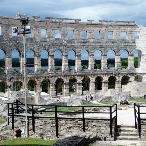 Wallpaper free images, Arena – Amphitheater Pula, Croatia