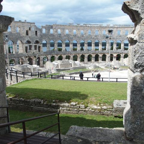 The Pula Amphitheater - free photos