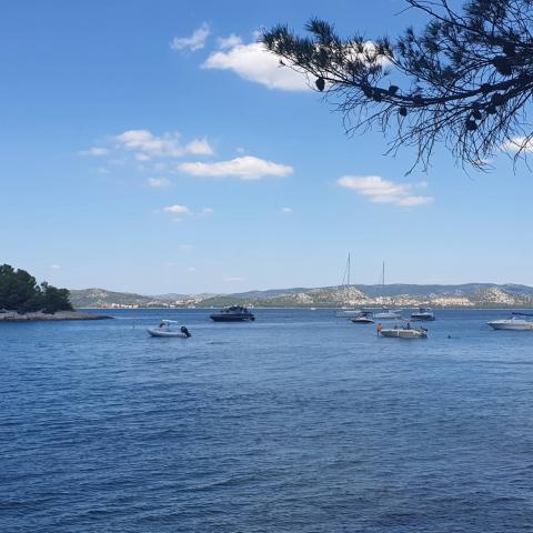 Beautiful sea of Croatia