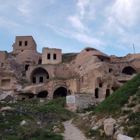 Cave Houses, Cavusin, Cappadocia