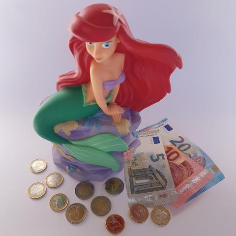 Disney Ariel Money Bank - Free photos
