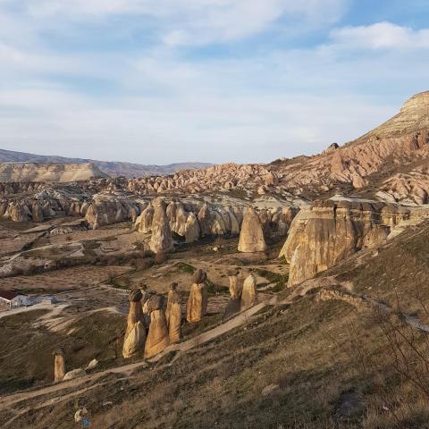 "The ""Love Valley"" in Cappadocia"
