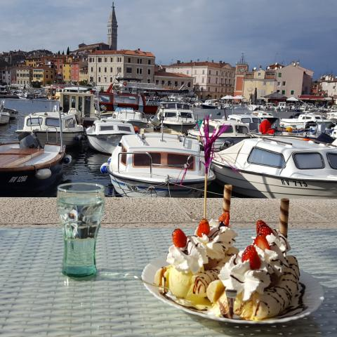 Sweet corner in Rovinj