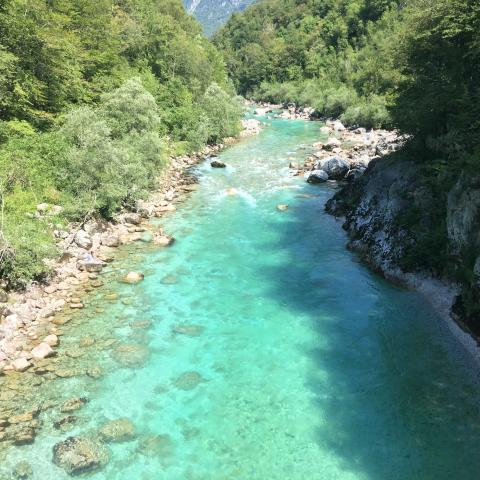 Soča river - Soča Valley - Slovenia