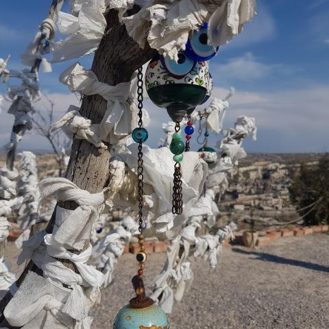 Tree Of Wishes in Cappadocia