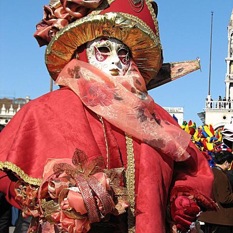 Traditional Venetian masks  - Free photos