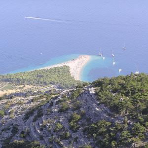 Bol and Zlatni rat beach