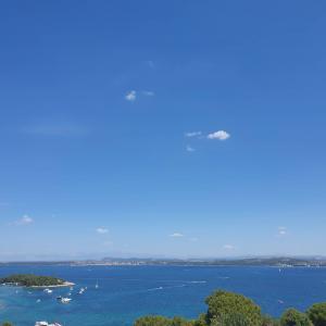 Adriatic summer day sea landscape
