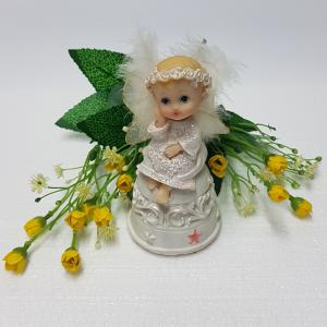 An angel figurine