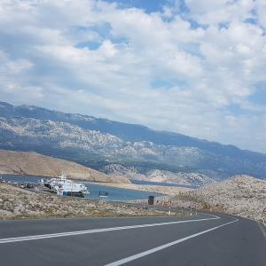 Beautiful island Rab in Croatia