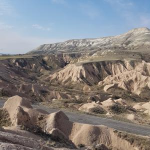 Wonderful landscape of Cappadocia in Turkey