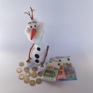 Designs Disney Frozen 3D Olaf Money Bank - Free image