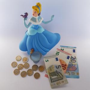Disney Cinderella Money Bank
