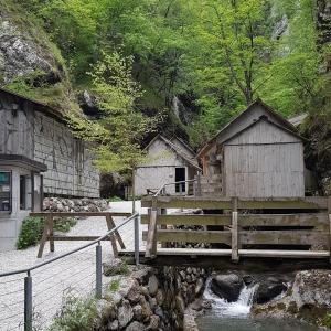 Franja Partisan Hospital - A cultural monument of national importance