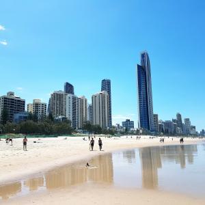 Wallpaper free images, Gold Coast, Queensland, Australia