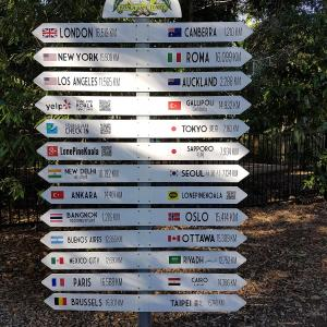 World Traveler Signpost