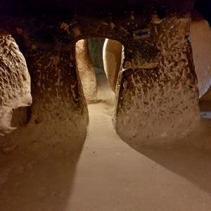 The Derinkuyu underground city