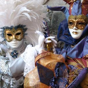 Venetian carnival mask -  Free Download