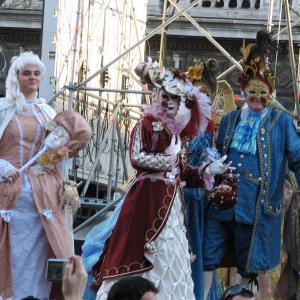Venetian carnival masks Stock Image