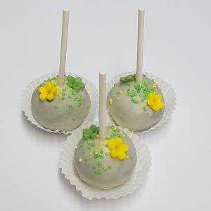 Green and yellow cake pops - Free Download